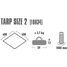 High Peak Tarp 2, grey